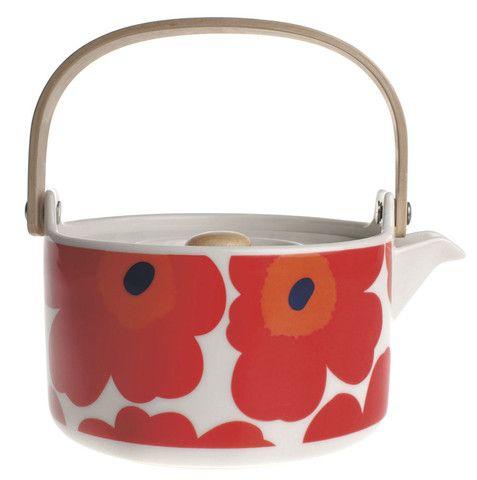 Unikko Teapot | Kiitos Marimekko