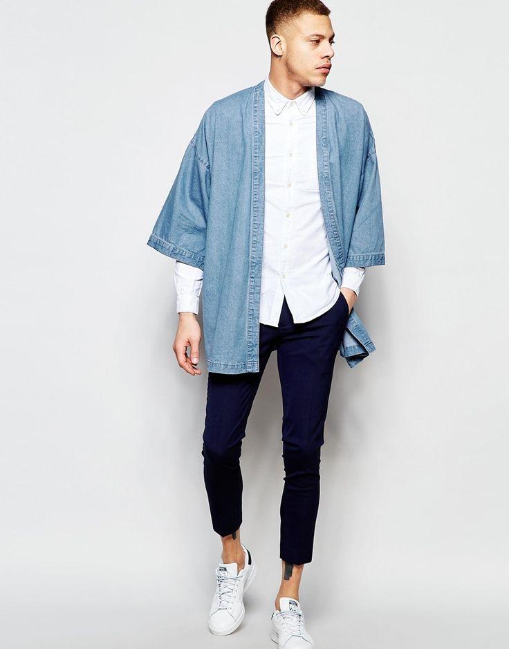 Image 4 ofASOS Denim Kimono