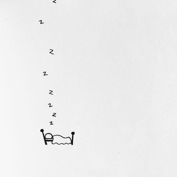 #inktober Day 4 - I Love Sleep