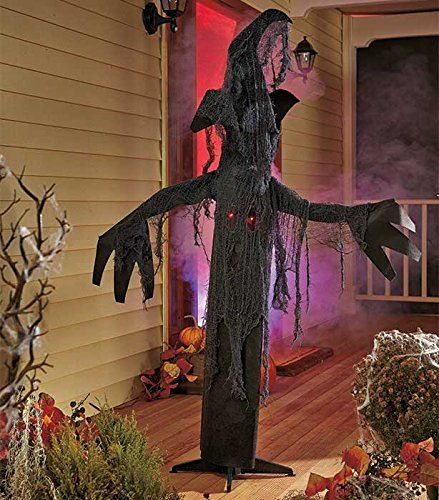 from cute to creepy these festive outdoor decorations will get your yard in the halloween