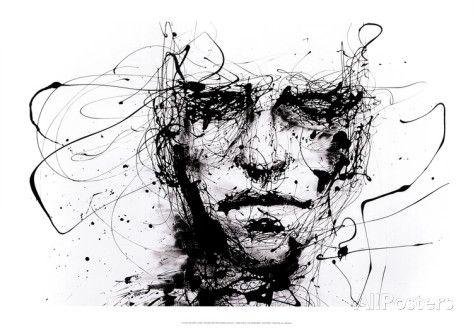 Lines Hold the Memories Affiches par Agnes Cecile sur AllPosters.fr