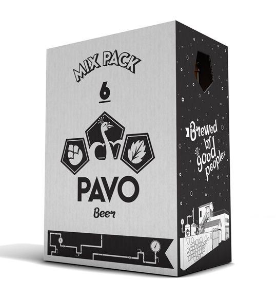 Pavo Beer packaging