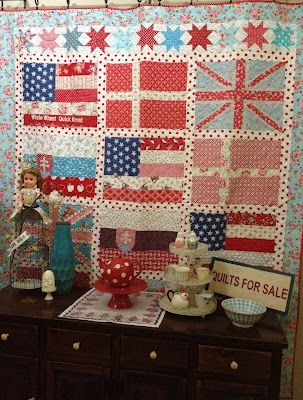 memorial day quilt fabric sale