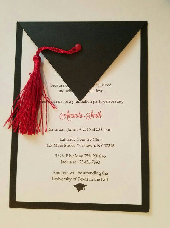 19 best invitaciones para graduaci u00f3n images on pinterest