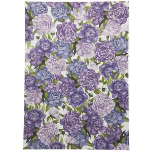 Cristina Re A4 Purple Peony Paper 5 Pack