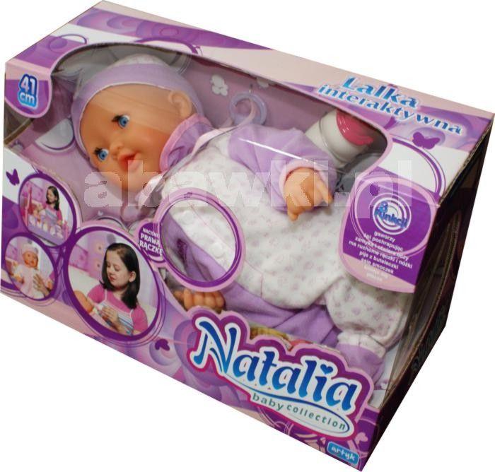 Lalka Natalia 41 cm INTERAKTYWNA - Abawki.pl :: zabawki dla dzieci, lalki dla…