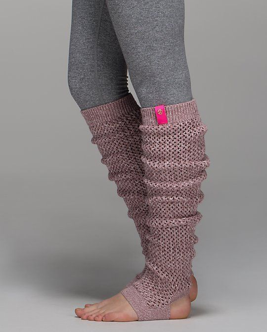 ♡ Lululemon Leg Warmers♡ So Cute!