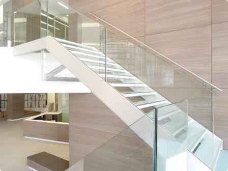 Bildresultat för trappräcke glas