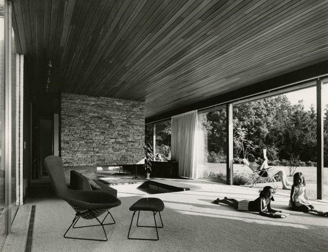 Richard Neutra Interior