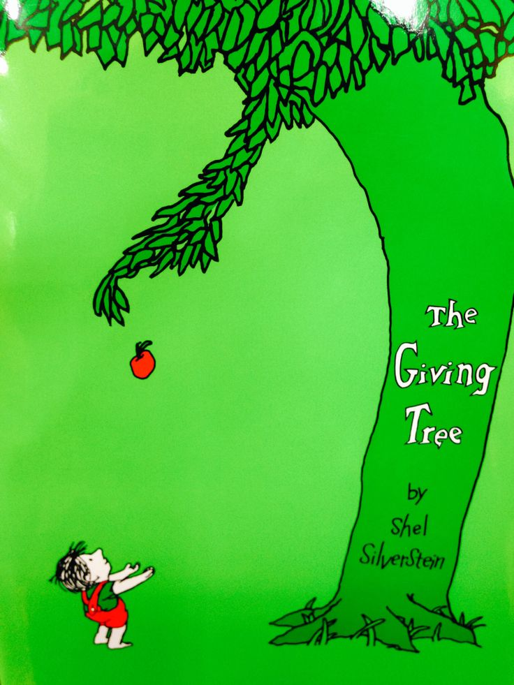 The Giving Tree by Shel Silverstein | My Library | Pinterest
