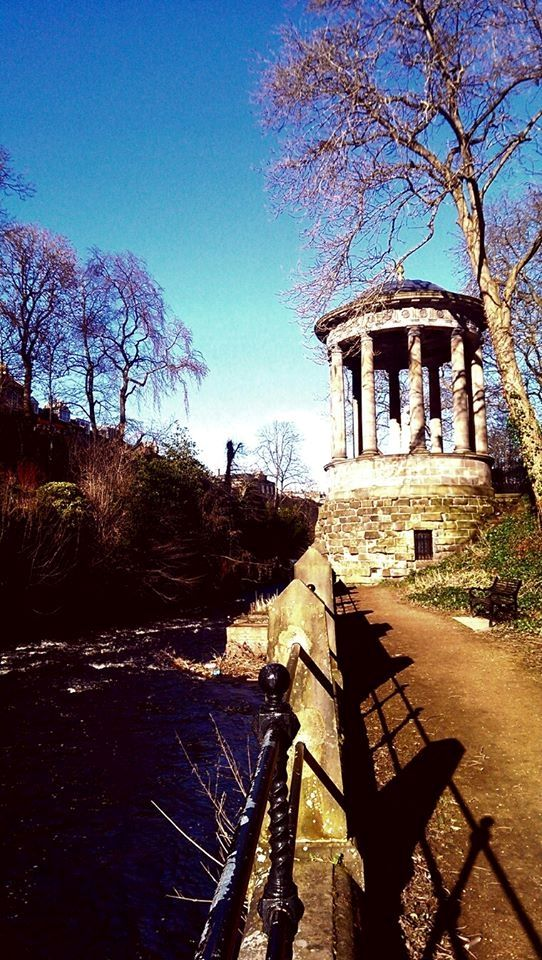 The water of Leith is such a great walk, and yet you'd hardly know it was there, it's so well tucked away!