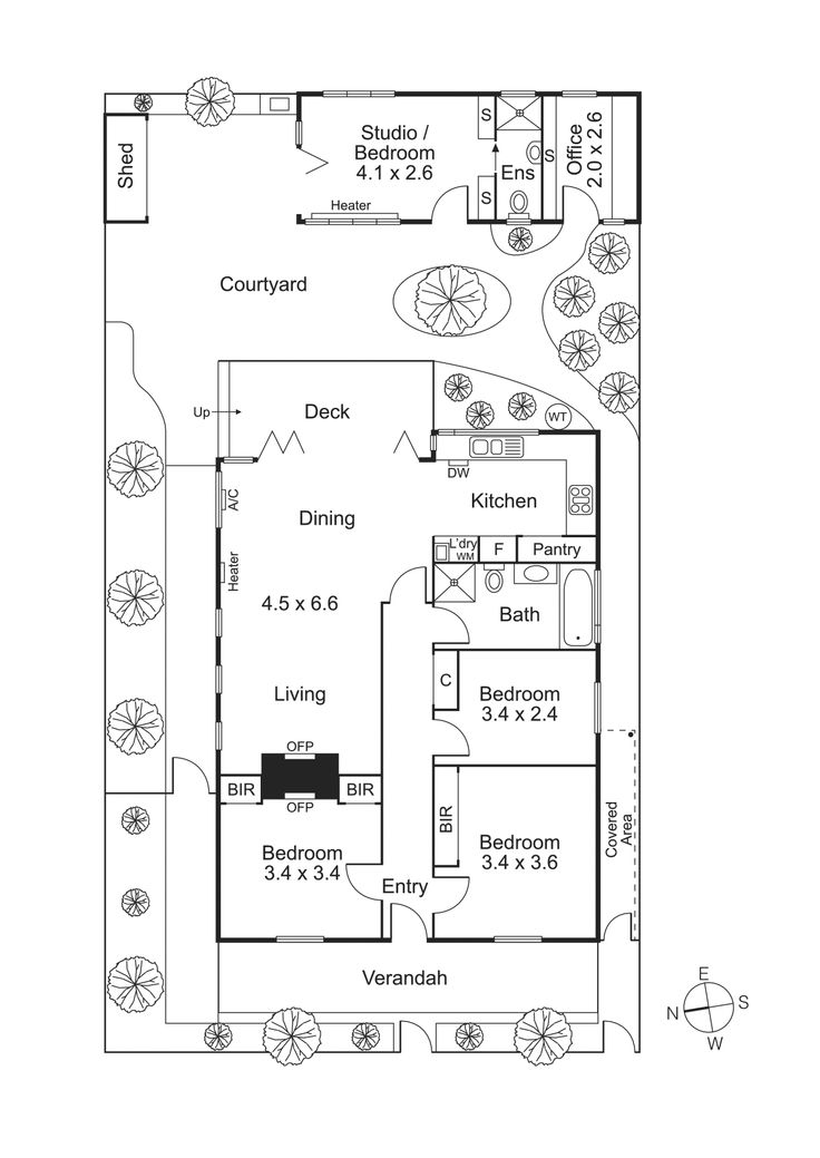 Adelaide cottage extension floor plans