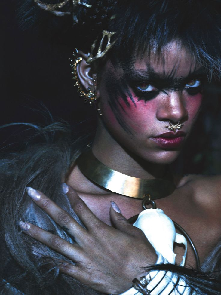 visual optimism; fashion editorials, shows, campaigns & more!: rihanna by mert and marcus for w september 2014