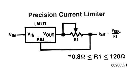 the post explains a simple universal constant current led