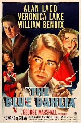 """A Dália Azul / The Blue Dahlia (1946) - Raymond Chandler always someone is """"smoking"""""""