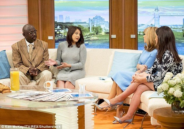 Mr Campbell and Miss Sheikh speak to Good Morning Britain presenters Kate Garraway and Sus...