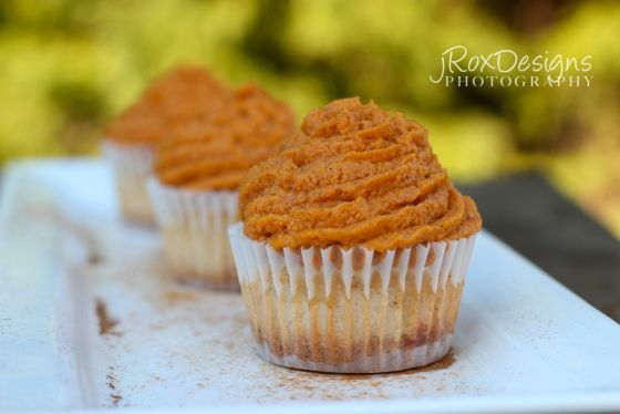 Pumpkin Pie Cupcake. This recipe combines two of the best foods ever: pumpkin pie and cupcakes!!!