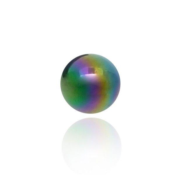 Cette boule de piercing en acrylique aux reflets nacrés est disponible en plusieurs coloris. CBO vous propose tout un éventail de piercing.