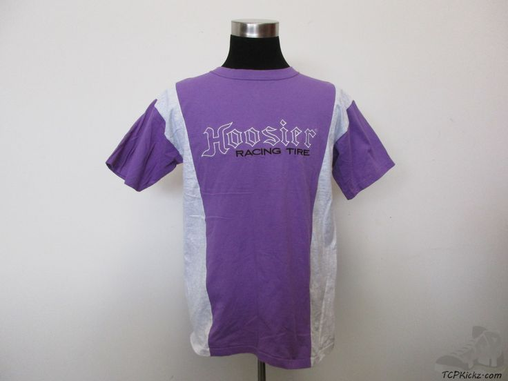 Vtg s midwest embroidery hoosier racing tires short