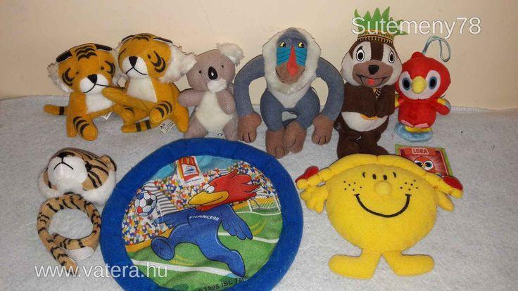 MC - is plüss figuracsomag gyerekeknek - ajándékhoz party - ra tombolához - 1 Ft - Nézd meg Te is Vaterán - Vegyes csomag - http://www.vatera.hu/item/view/?cod=2552079008