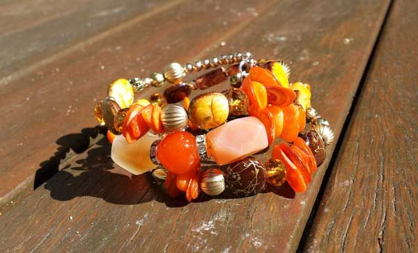 Product of the Week: Free Spirit Bracelet  40% off for EOFYS, code: EOFY http://www.figandwattle.com.au    #figandwattle #bracelet #amber #fashion