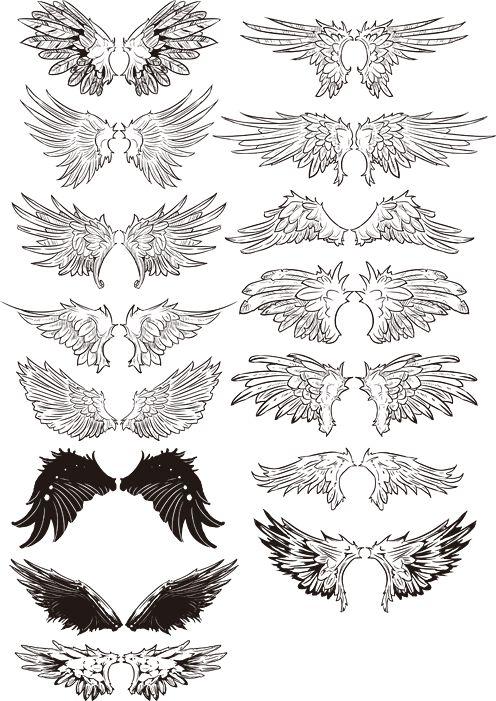 覇者のウイングをデザインした15セットの翼です。
