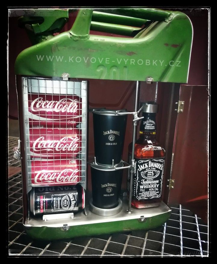 Jerry Can BAR Jack Daniels