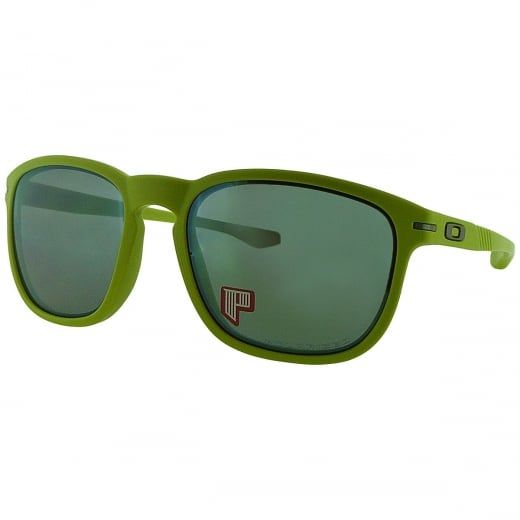 Oakley Enduro Matte Fern Polarised Heaven & Earth Sunglasses. Model Number: OO9223 18. Classic square frame with key hole bridge and fluted arms for a retro inspired twist.