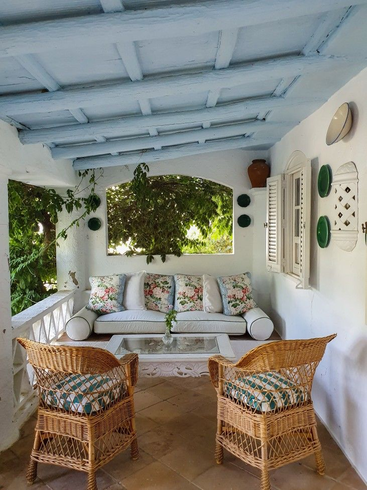 Sweet Home, Outdoor Decor, Color, Home Decor, Terrace, Courtyards, Dining Rooms, Home Decoration, Furniture