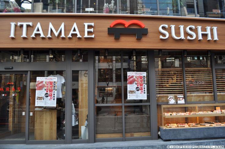 tokyo japan food sushi stores | Itamae Sushi – Tokyo, Japan