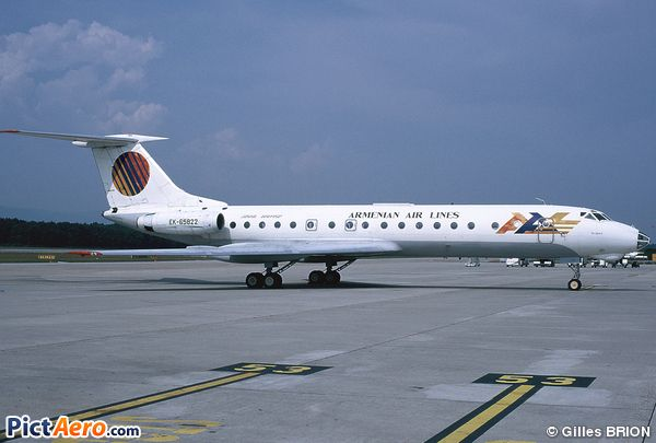 Tupolev Tu-134A-3 (Armenian Airlines)