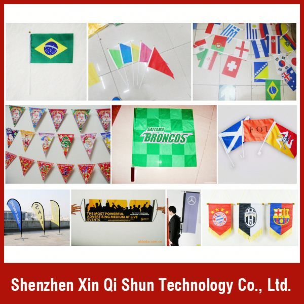 outdoor cheap advertising flag  Customized printing  Varies designs