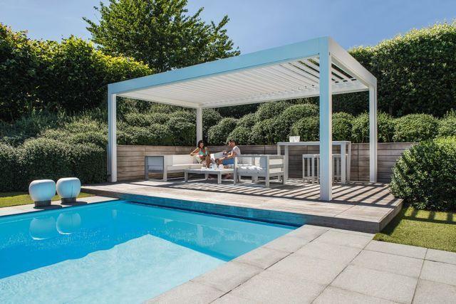 Pergola Bioclimatique 10 Modeles De Pergolas Pour Terrasse Et Jardin Cote Maison Pergola Pergola Plans Pergola Cost