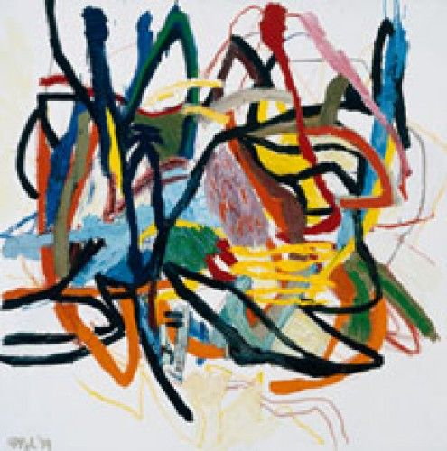 karel appel artist | Karel Appel, Nature nr. 5. Amsterdam, Karel Appel Foundation