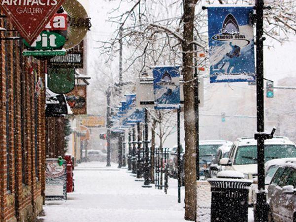 Bozeman, Montana - Winter Wonderland
