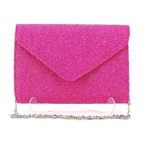 CADENCE clutch in magenta/glitter. #mybetsonBetts #BettsRaceDayReady #BettsShoes
