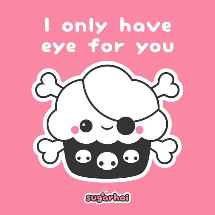 Cute Love Quote From A Pirate Cupcake With Images Kawaii Art