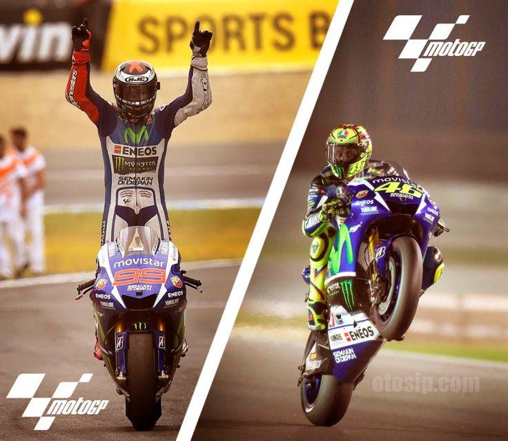 Duo Kandidat Juara MotoGP 2015
