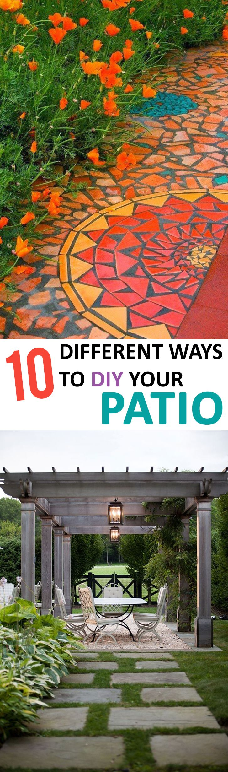 10 Different Ways to DIY Your Patio Don't you love this great outdoor patio idea? Thinking about buying a home or selling your home? LystHouse is the simple way to buy or sell your home. Visit http://www.LystHouse.com to maximize your ROI on your home sale.