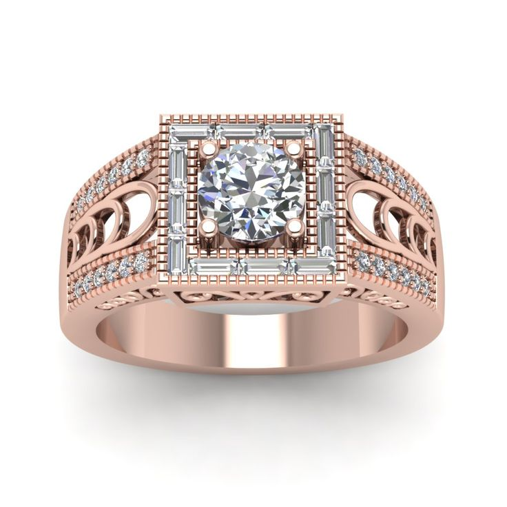 100 best images about Vintage Engagement Rings on Pinterest