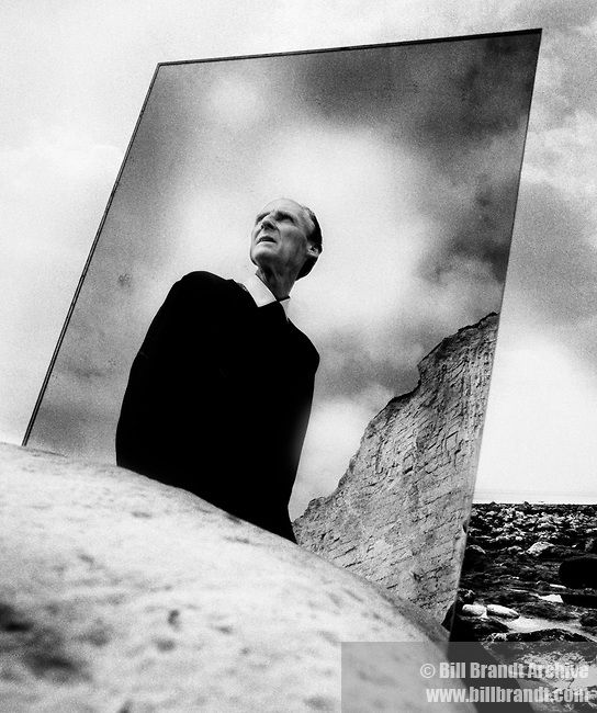 Bill BRANDT :: Bill Brandt self portrait, 1966
