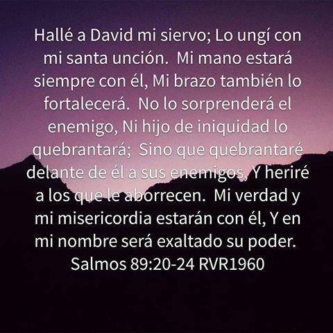 Resultado de imagen para salmo 89:20