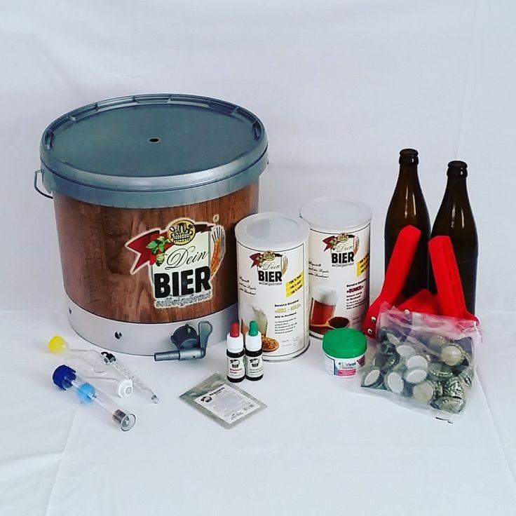 Vom Bierfan zum Hobbybrauer! Mit DAS BIER kommt man unkompliziert und ohne großen finanziellen Aufwand zum selbstgebrauten Wunsch-Bier.