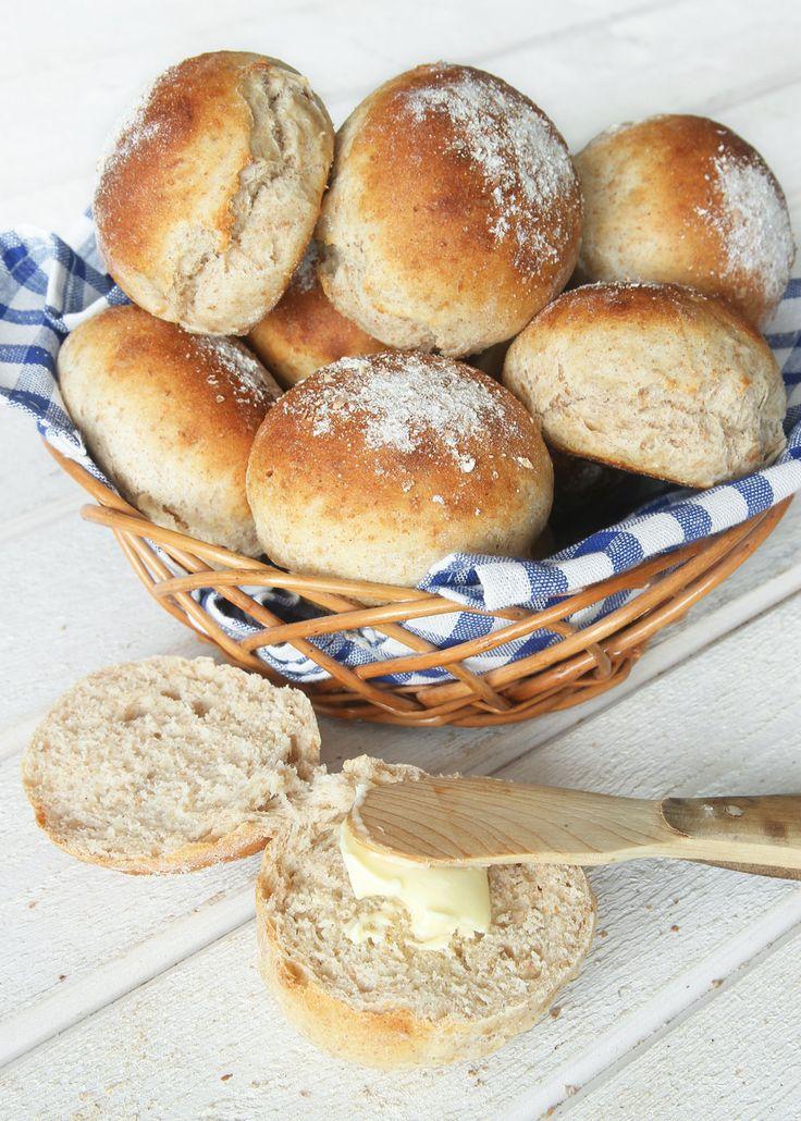 Fiberrika frukostbullar – Lindas Bakskola