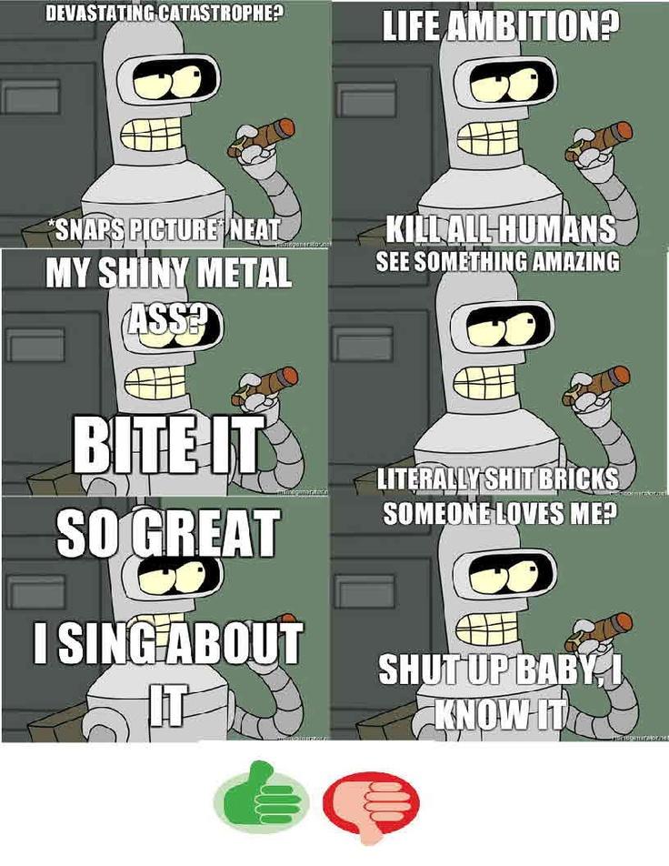 Futurama Memes! Bender