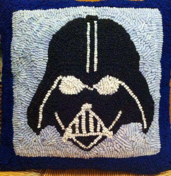 Darth Vader Pillow on Etsy, $60.00