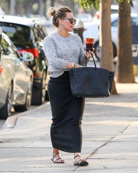 Hilary Duff Fashion Style April 2017