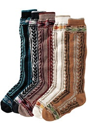 boot socks for fall.