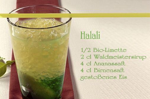 Cocktails für Kinder: Halali