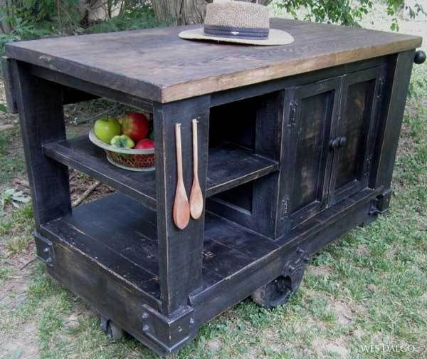 1000+ ideas about Rustic Kitchen Island on Pinterest  Rustic Kitchens, Kitchen Islands and Kitchens